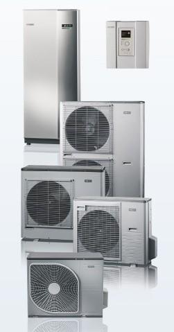 Tepelné čerpadlo NIBE SPLIT s plynulou regulací výkonu