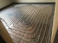 Podlahové vytápění - instalace na Roll-jet