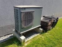 Tepelné čerpadlo vzduch-voda NIBE F2040-12 reference - instalace