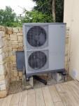 Tepelné čerpadlo vzduch-voda NIBE F2040-16 reference - instalace