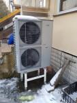 Tepelné čerpadlo vzduch-voda NIBE AMS 10-16 (SPLIT 16) - reference - instalace