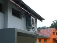 Tepelné čerpadlo vzduch-voda NIBE AMS 10-12 (SPLIT 12) - reference - instalace
