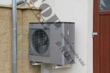 Instalace tepelného čerpadla vzduch-voda NIBE SPLIT – venkovní jednotka SPLIT 12