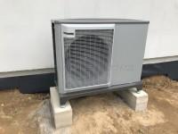 Tepelné čerpadlo vzduch-voda NIBE F2040-8 reference - instalace