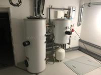 Instalace ohřívače OKC 250 NTR-HP, OKC 300 NTR-HP - reference