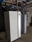 Instalace vnitřní jednotky NIBE VVM 500 - reference - instalace