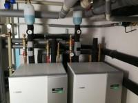 Instalace tepelného čerpadla země-voda 2 x NIBE F1145 - reference