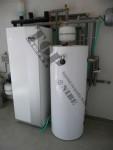 Instalace tepelného čerpadla země-voda NIBE F1245 + akumulační nádrž NAD 250