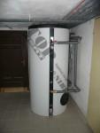 Instalace kombinovaného ohřívače NADO 750/250
