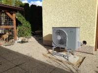 Tepelné čerpadlo vzduch-voda NIBE AMS 10-6 (SPLIT 6) - reference - instalace