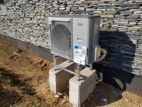 Tepelné čerpadlo vzduch-voda NIBE AMS 10-8 (SPLIT 8) - reference - instalace