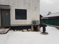 Tepelné čerpadlo vzduch-voda NIBE F2040-6 reference - instalace